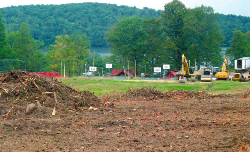 Pasture for his 'buddies': Schott developing Casco horse farm