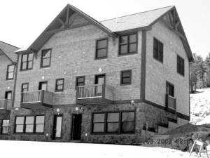 OVERVALUED BY THE TOWN — The assessed values of the other 30 or so units that are part of the Moose Pond Condominium project on Pleasant Mountain may be in question, now that the Cumberland County Board of Assessment Review has ruled that one of the units was over-assessed by the Town of Bridgton.