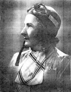"A PATRIOT AND PIONEER — woman aviator was Bob McHatton Sr.'s grandmother, Edith Jane ""Dolly"" Bernson, one of the first woman pilots in New England."