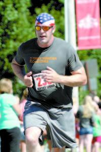 JEFFREY JONES, 38, of Casco turned in a time of 38:58.