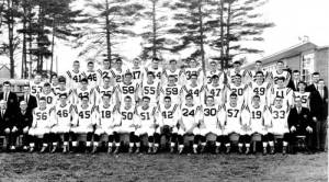 50 YEARS AGO the Fryeburg Academy football team won the Class C state title. The 1963 Raiders will be recognized this Saturday. SP w39 raider celebration info State Champs Reunion When: This Saturday, Sept. 28 Schedule of events:  10 a.m. coffee social in the Leura Hill Eastman Performing Arts Center lobby; 10:30 a.m., program in the theater;  11 a.m. game film video recapturing the 1963 championship season;  12 p.m., lunch in PAC lobby;  1 p.m., gather at the football field;  1:30 p.m., Morse vs. Fryeburg Academy, Homecoming Game Halftime, Introduction of the 1963 Championship Raider team and team picture presentation to the Academy The celebration is open to the public. 1963 Title Run (7 wins, 1 loss) Fryeburg 28, Kennebunk 7 Fryeburg 14, Traip Academy 7 Fryeburg 13, Mexico 0 Fryeburg 33, Hall-Dale 0 Fryeburg 20, Oxford Hills 6 Fryeburg 27, Holderness 7 Fryeburg 32, Proctor 12 Gould Academy 13, Fryeburg 7 • Conference record: 5-1 • Vs. Class B opponents, 3-0 • Vs. Class C opponents, 2-1 • Non-conference, 2-0