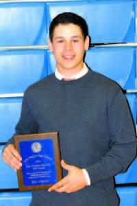 Rick Worthley Memorial Golf Award — Ben Chaine.