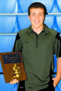 Carol Youker Ski Award — Brendon Harmon.