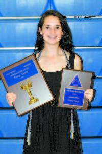 Sportsmanship & Principal's Awards — Casey Heath.