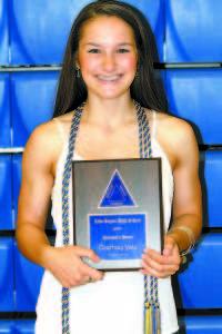 Principal's Award — Courtney Yates.