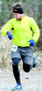 Race winner Luke Fernandez