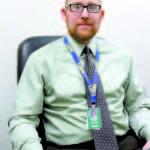 Lake Region Middle School Principal Matthew Lokken