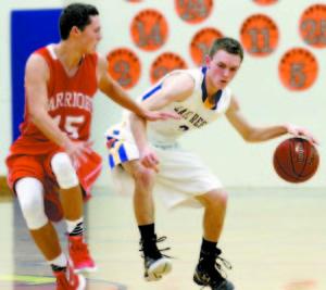 Senior Tyler Walker leads the Laker boys' basketball team.