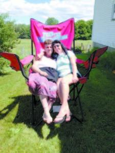 Patty Wininger (left) and Karyl Langill